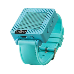 Bem Wristband Bluetooth Speaker - Blue