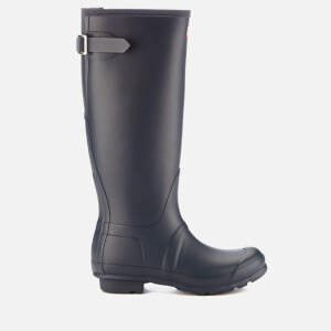 Hunter Women's Original Back Adjustable Tall Wellies - Navy