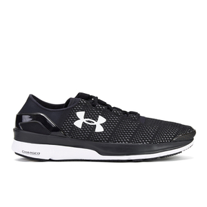 Under Armour Men's SpeedForm Turbulence Running Shoes - Black/White