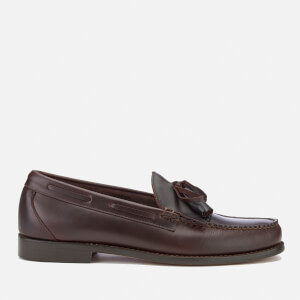 Bass Weejuns Men's Layton Kiltie Leather Loafers - Dark Brown