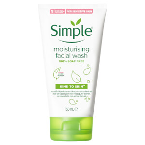 Simple Moist Foam Face Wash 150ml
