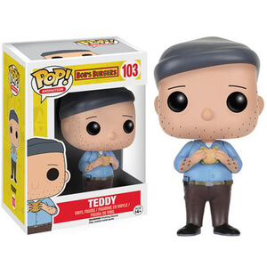 Bob's Burgers Teddy Pop! Vinyl Figure