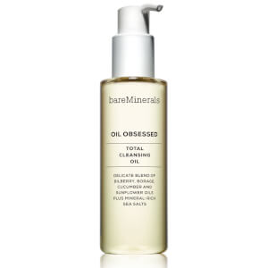 Huile nettoyante Oil Obsessed Total bareMinerals 180 ml