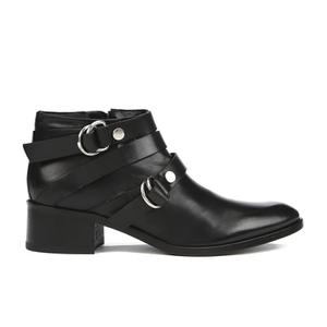 McQ Alexander McQueen Women's Ridley Harness Ankle Boot - Black