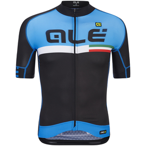 Alé PRR 2.0 Ciruito Jersey - Black/Light Blue