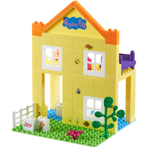 Peppa Pig Construction: Deluxe Peppa's House Set