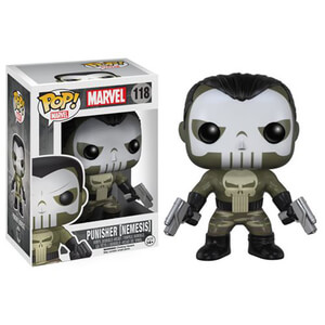 The Punisher Nemesis Punisher Funko Pop! Figuur