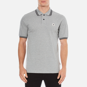 Converse Men's All Star Core Polo Shirt - Vintage Grey Heather