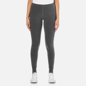 Converse Women's All Star Americana Cotton Stretch Leggings - Charcoal Marl
