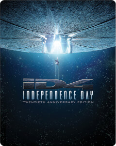 Independence Day - Remasterte Version - Zavvi exklusives Limited Edition Steelbook Blu-ray