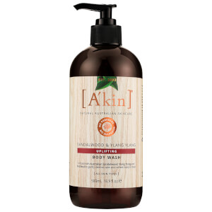 A'kin Aromatherapy Body Wash – Sandalwood