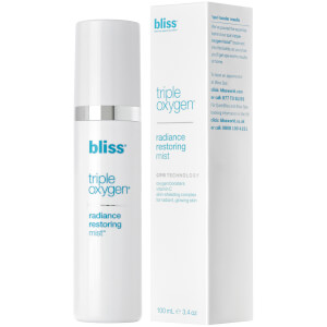 bliss Triple Oxygen Radiance Restoring Face Mist 100ml
