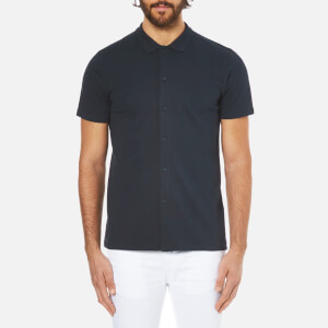 Selected Homme Men's Driker Polo Shirt - Dark Sapphire