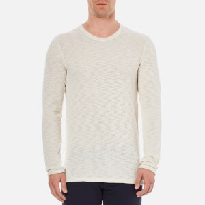 Selected Homme Men's Grad Crew Neck Sweatshirt - Bone White