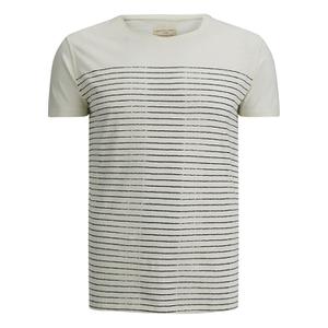 Selected Homme Men's Water O-Neck T-Shirt - Egret