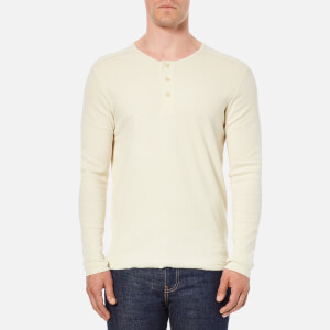 Selected Homme Men's Nrayley Long Sleeve Top - Egret
