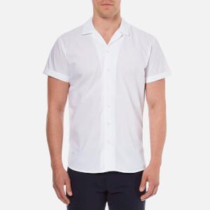 Selected Homme Men's Short Sleeve Shirt - Bright White