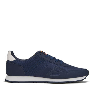 Jack & Jones Men's Fayette Mesh Trainers - Navy Blazer