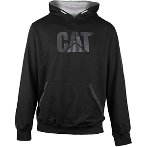 Caterpillar Men's Lightweight Tech Hooded Sweatshirt - Black