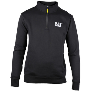 Caterpillar Men's Canyon 1/4 Zip Sweatshirt - Black