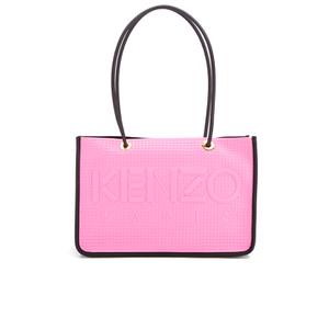 KENZO Women's Kombo East West Tote Bag - Pink/Bordeaux