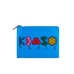 KENZO Women's Occassions A4 Clutch - Blue