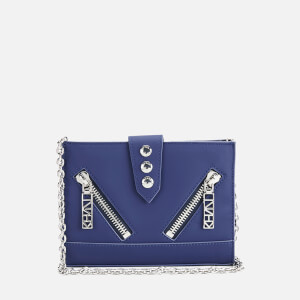 KENZO Women's Kalifornia Wallet on a Chain Crossbody Bag - Navy