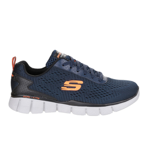 Skechers Men's Equaliser 2.0 Settle The Score Low Top Trainers - Blue