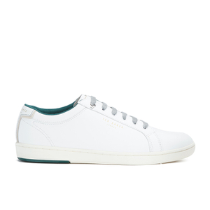 Ted Baker Men's Theeyo3 Leather Cupsole Trainers - White