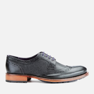 Ted Baker Men's Casius4 Leather Brogues - Black