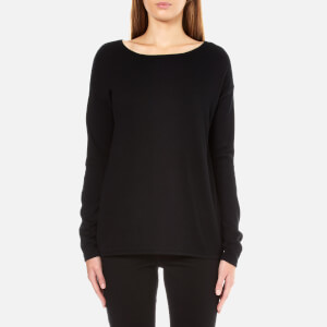 BOSS Orange Women's Ivahida Zip Back Jumper - Black