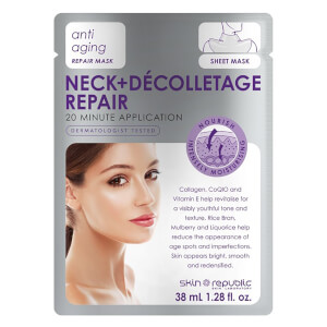 Skin Republic Neck and Décolletage Repair Mask (38 ml)
