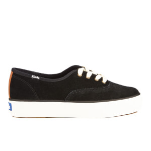 Keds Women's Triple Suede 70s Trainers - Black