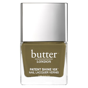 butter LONDON Patent Shine 10X Nail Lacquer 11 ml - British Khaki
