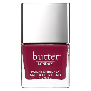 Esmalte de uñas Patent Shine 10X de butter LONDON 11 ml - Broody