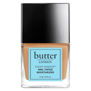 Hidratante para Uñas con Color Sheer Wisdom de butter LONDON 11 ml - Medio