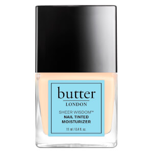 Sheer Wisdom Nail Tinted Moisturiser de butter LONDON 11ml - Fair