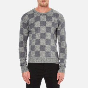 AMI Men's Crew Neck Sweatshirt - Grey