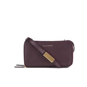 WANT LES ESSENTIELS Women's Demiranda Shoulder Bag - Bordeaux/Gilded Plum