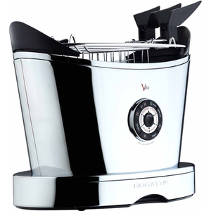Bugatti 13-VOLOCR Volo 2 Slice Toaster - Silver