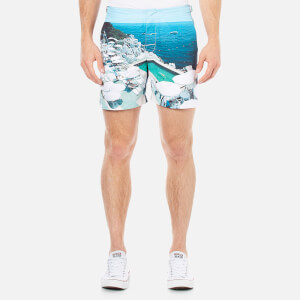 Orlebar Brown Men's Bulldog Hulton Getty Swim Shorts - Pool of Eden
