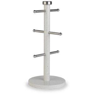 Salter Marble Collection White Mug Tree