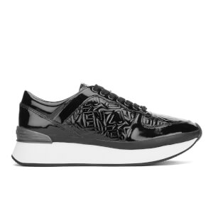 KENZO Women's K-Run Low Top Trainers - Black