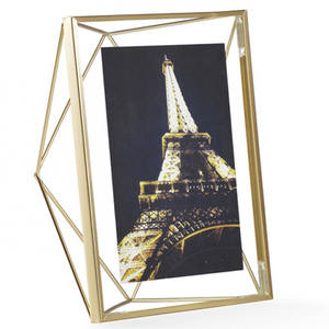 "Umbra Prisma Photo Frame - Brass - 5"" x 7"" (13 x 18cm)"