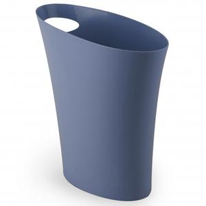 Umbra Skinny Waste Can - Mist Blue