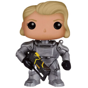 Fallout 4 Unmasked Female Power Armor Figura Pop! Vinyl