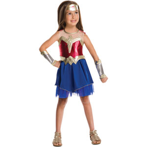 DC Comics Girls' Wonder Woman Fancy Dress