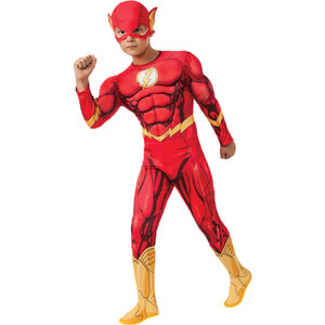 DC Comics Boys' Deluxe The Flash Fancy Dress
