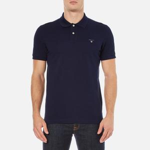 GANT Men's Original Pique Rugger Polo Shirt - Shadow Blue
