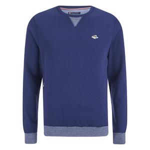 Le Shark Men's Greenfield Crew Neck Sweatshirt - Bijou Blue